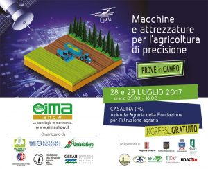 EIMA Show Umbria 2017: We'll be there