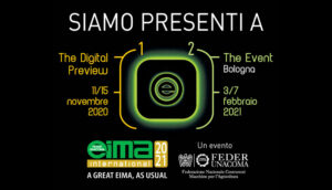 EIMA International 2021 e EIMA Digital Preview 2020